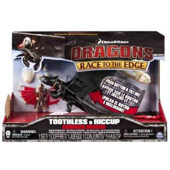 Игровой набор Беззубок в броне с Иккинг Как приручить дракона (SM66607-1)