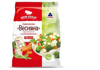 Суміш овочева, Шеф - Кухар, Весняна, Рудь, 400г