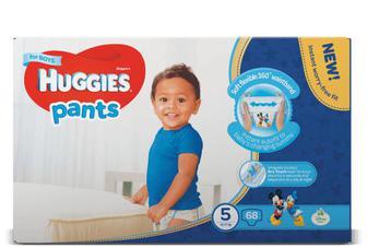 Підгузки-трусики Huggies для хлопчиків 5 (12-17 кг) 68 шт./уп
