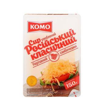 Сир твердий   Голландія  або Російський 50%   Комо  150 г