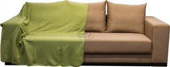 Плед 150x180 см зелений UP! (Underprice)