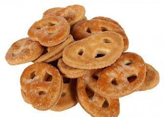 Печиво Крендельки з кокосом, Київхліб, 0,26кг