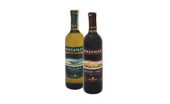 Вино Мускатне Качинське біле, Пінно Гран червоне напівсолодке Інкерман, 0,7 л