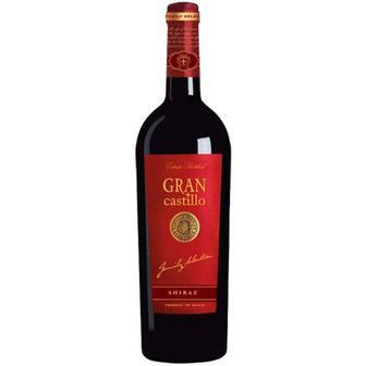 Вино Gran Castillo Shiraz 2014 червоне напівсухе 0,75л