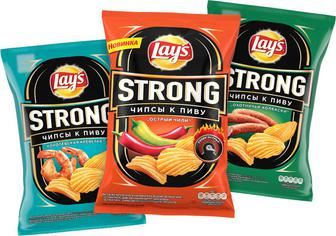 Чіпси Lay's Strong 120г
