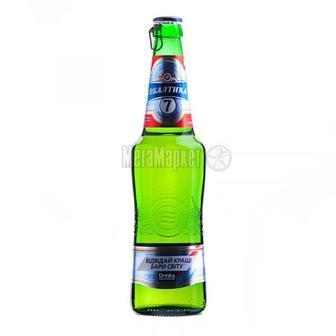 Скидка 25% ▷ Пиво Балтика №7 експортне 0.5л
