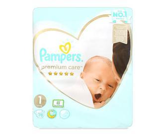 Підгузки Pampers Premium Care Newborn, 2–5 кг 78шт