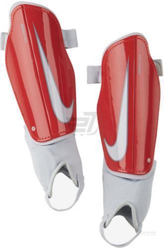 Щитки футбольні Nike Y NK CHRG GRD р. M червоний