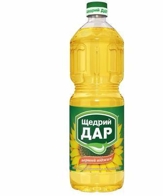 Олія соняшникова, Щедрий Дар, 1 л