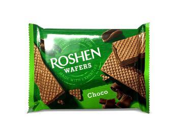 Вафлі Roshen Wafers шоколад, 72г