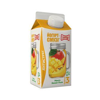 Йогурт-Смузі 2% 280г. Злагода