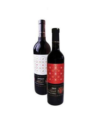 Вино червоне напівсолодке Мерло або Сапераві Arrows 0,75 л