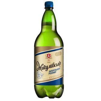 Пиво світле  Жигулівське Запорізького розливу  2.5л