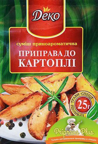 Приправа к картофелю «Деко» 25 г