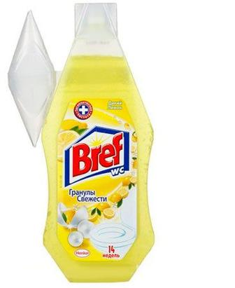 Освіжувач для туалету Bref Гель Дикий лимон 360 мл