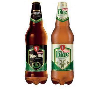 Пиво темне нефільтроване Чернігівське Біле/Біла Ніч 1 л