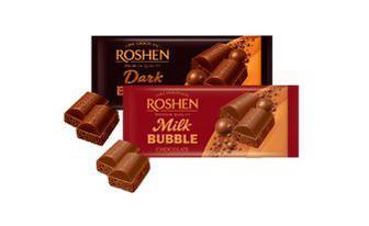 Скидка 31% ▷ Шоколад пористий молочний, екстрачорний Рошен 85 г