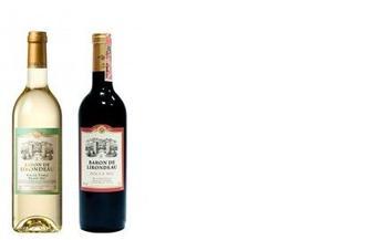 Вино белое/красное сухое Castel, Baron De Lirondeau, 0,75л