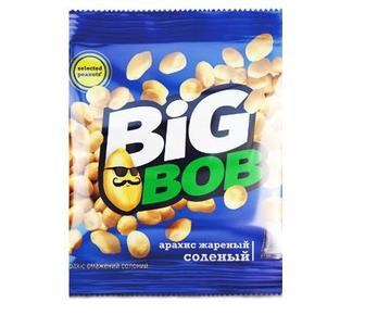 Арахис Биг Боб (Big Bob) жареный соленый 70г