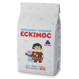 Морозиво Ескімос 750г Рудь