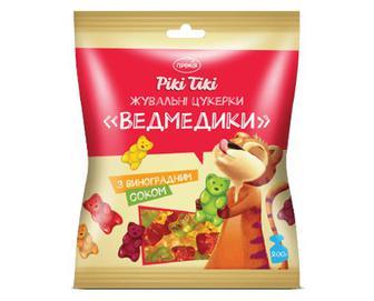 Цукерки жувальні «Ведмедики» з виноградним соком «Премія Рікі Тікі»® 200г