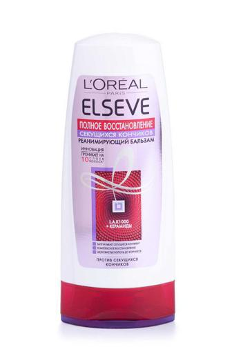 Бальзам-ополаскиватель ELSEVE HAIRCARE для секущихся кончиков волос Полное Восстановление, 200 мл
