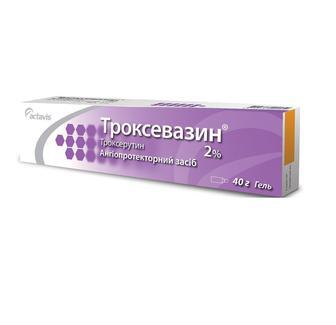 Троксевазин 2% гель 40 г