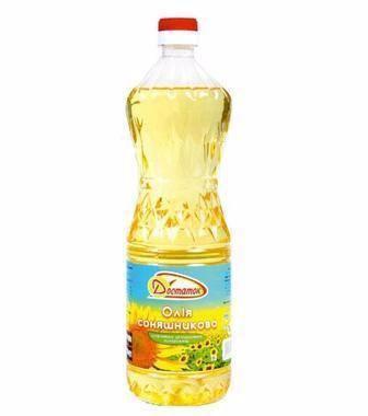 Олія соняшникова рафінована Достаток 1л