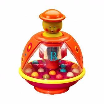 Розвиваюча іграшка Дзига-мандаринка Battat