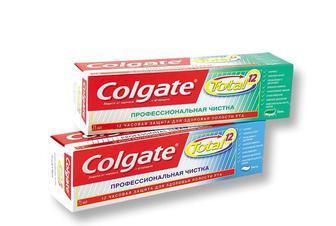 Зубная паста Colgate 75 мл TOTAL 12