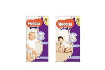 Підгузники-трусики дитячі гігієнічні Pants Jumbo (4)/ Pants Jumbo (5) Huggies 36 шт./34 шт.