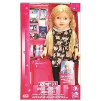 Кукла с аксессуарами для путешествий Lotus (6004952)