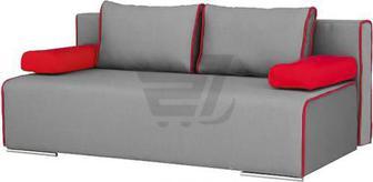 Диван прямий Берегиня Бонус червоний 1940x910x770 мм