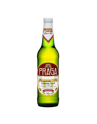 Пиво світле Praga, 0,5 л