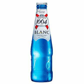 Пиво Бланк світле нефільт.4,8%, Kronenburg 1664, 0,46 л