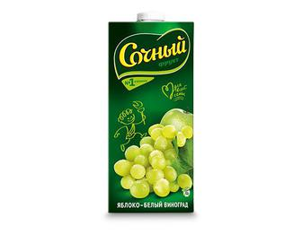 Нектар яблуко-білий виноград  «Сочный» 0,95 л
