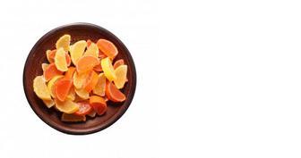 Мармелад часточки апельсин/лимон, ХКФ, 100г