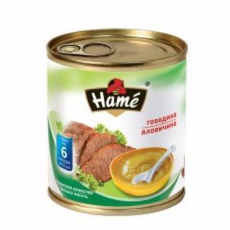Пюре детское овощное Hame 100г