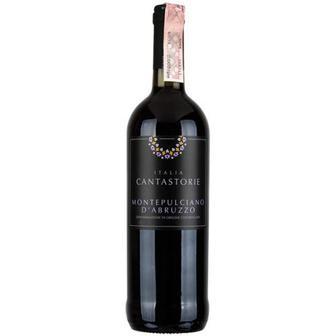 Вино Cantastorie Montepulciano D`Abuzzo черв. сухе 0,75л