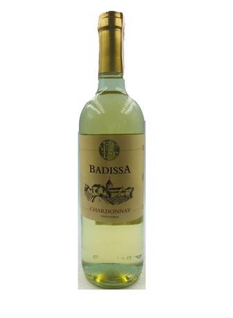 Вино Badissa Chardonnay IGP біле сухе 0,75 л