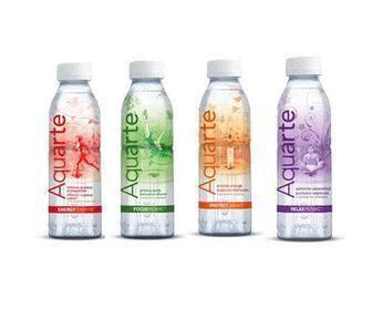 Вода Energy на растительных экстрактах со вкусом граната/маракуйи/яблока Aquarte 0,5л