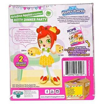 Кукла Happy Places S1 Кристина Епплз 2 эксклюзивных петкинсы (56410)