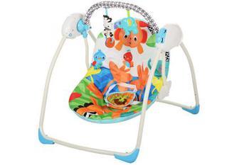Крісло-гойдалка Bambi M 3241 Тропічний ліс