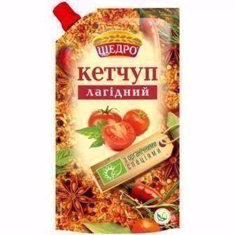 Кетчуп Лагідний, Шашличний Щедро 300г