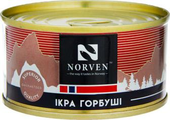 Скидка 37% ▷ Ікра лососева зерниста Norven гобуші 120г