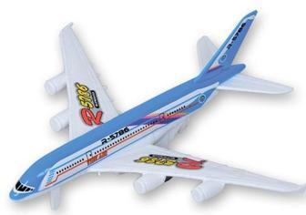 Акция ▷ Іграшка дитяча Літак, пластик, 17 см ▷ Minus50.Net