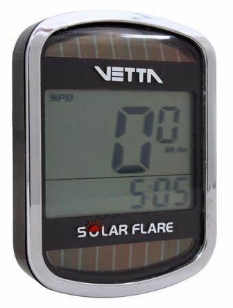 Аналоговий провідний велокомп'ютер Vetta SOLAR FLARE