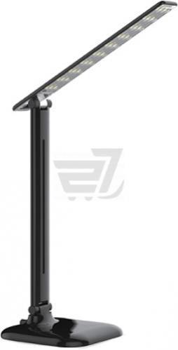 Настільна лампа офісна Accento lighting ALYU-DE1096-BK 9 Вт чорний