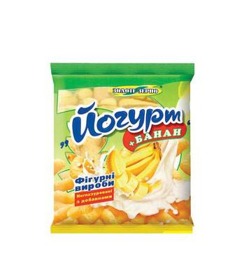 Кукурудзяні палички Йогурт-банан, Йогкрт-малина Золоте Зерно 60г