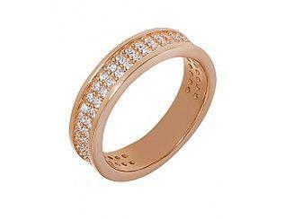 Золотое кольцо с фианитами 01-16999838